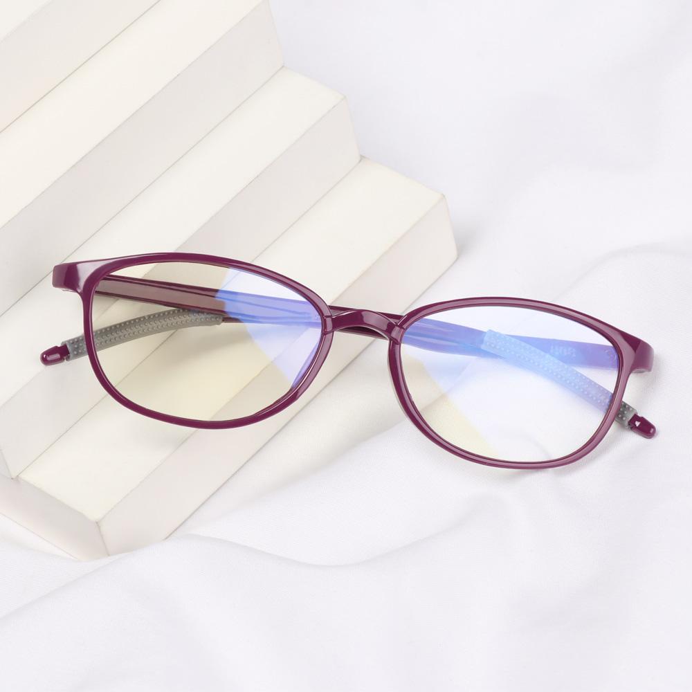 🎈FUTURE🎈 Women Men Reading Glasses Comfortable Eye Protection Anti-Blue Light Eyeglasses Portable Antifatigue Fashion Vintage Ultra Light Frame/Multicolor