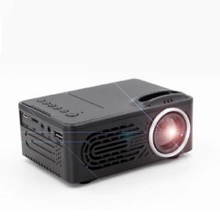 Máy chiếu mini di động RD 814 đèn LED chất lượng video HD 1080P dùng để làm rạp chiếu phim trong nhà phích cắm EU
