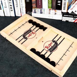 Mô hình đồ chơi giải trí đánh khúc côn cầu cho 2 người W5N3