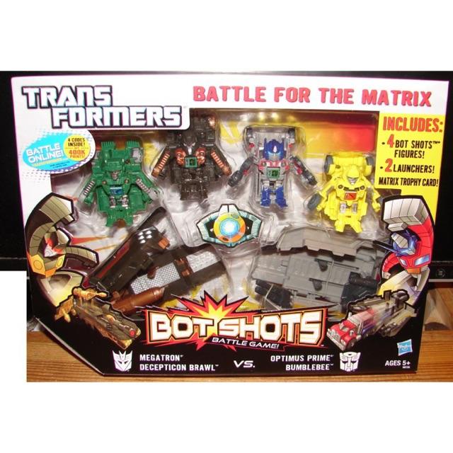 Bộ 06 đồ chơi Robot Transformer Mini Bot Shots Hasbro