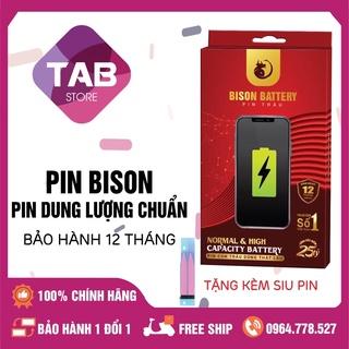 Pin IPhone BISON (Pin Con Trâu) Siêu Trâu Siêu Bền - Bảo Hành 12 Tháng thumbnail