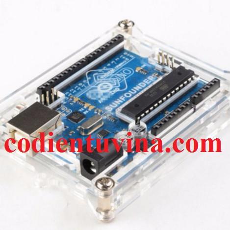 Vỏ Mica Arduino UNO