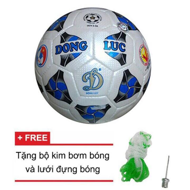 Quả bóng đá cơ bắp động lực UCV 3.05 số 4 tặng kim bơm bóng và túi lưới đựng bóng_quả bóng đá cho bé