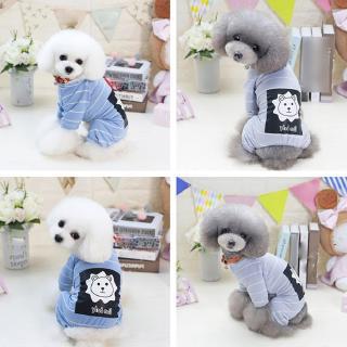❣❣Lovely Lion Style Four Legs Cotton Pet Dog Bib Coat Jumpsuits Clothing Apparel