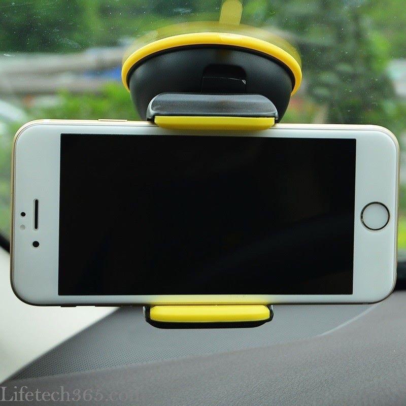 ✔BẢO HÀNH 12T-CHÍNH HÃNG✔Hít Giá đỡ Hoco Car Hoder CA5 kẹp điện thoại di động trên xe hơi xoay 360 độ đế hít chân không