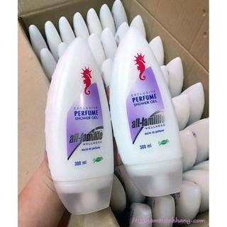 (VÔ ĐỊCH GIÁ) Sữa Tắm Cá Ngựa Algemarin thơm ngọt mịn da 300ml