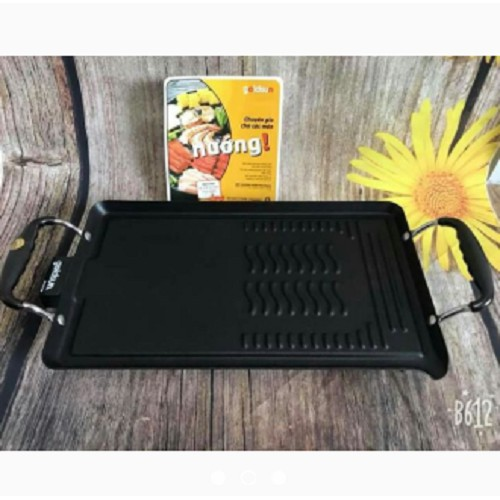 Bếp nướng điện không khói - Bếp nướng điện Goldsun loại to hàng tiêu chuẩn