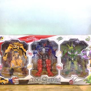 Bộ 3 người máy không gian biến hình Transformers