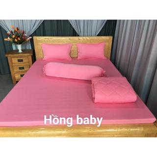 Ga - Drap Giường Lẻ Thun Mát Lạnh Lan Pham Bedding - Hồng Baby thumbnail
