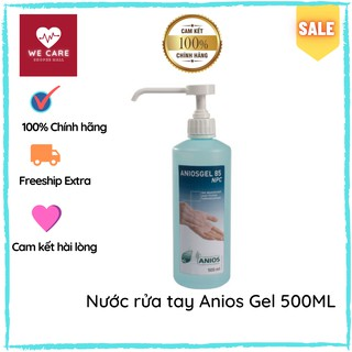 Nước Rửa Tay Khô Diệt Khuẩn -  Anios Gel Chai 500ML