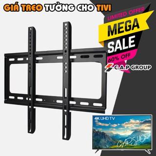 Giá treo Tivi TV kệ tivi treo tường khung treo tivi giá đỡ tivi có 5 loại cỡ16-37 inch, 32 - 50,42 - 65 inch, 75 inc