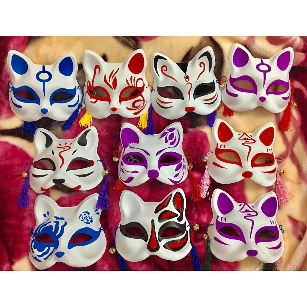 Mặt Nạ Vẽ Mèo nhiều mẫu