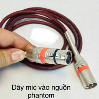 dây micro 2 đầu đực cái cao cấp