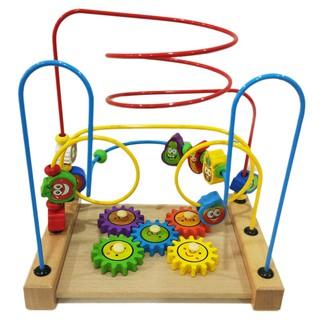Đồ Chơi Luồn Hạt. Đồ chơi thông minh luyện kỹ năng vận động tay cho bé.