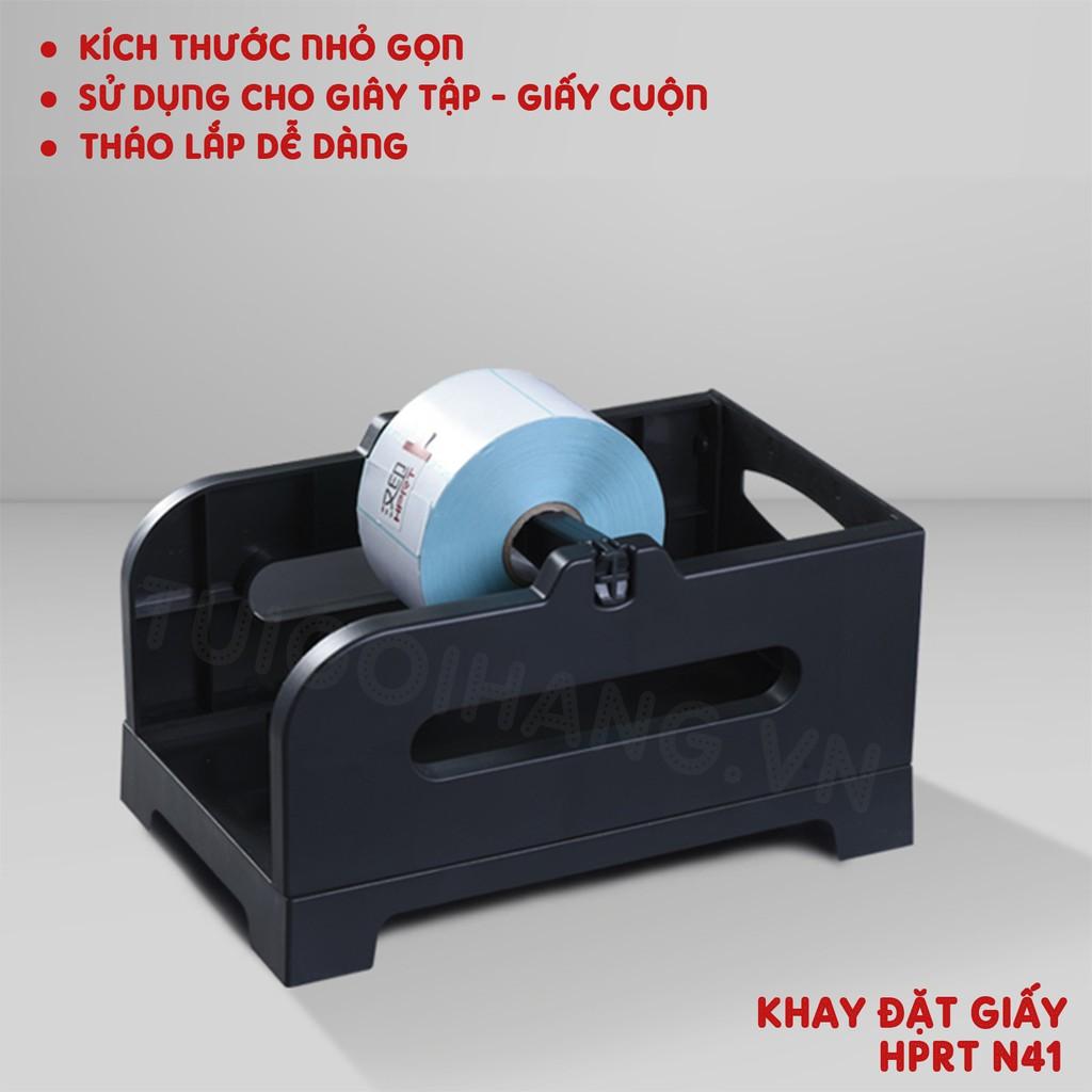 Khay Đặt Giấy In Cho Máy In HPRT N41 - Gprinter - Godex - Máy In Nhiệt TMĐT