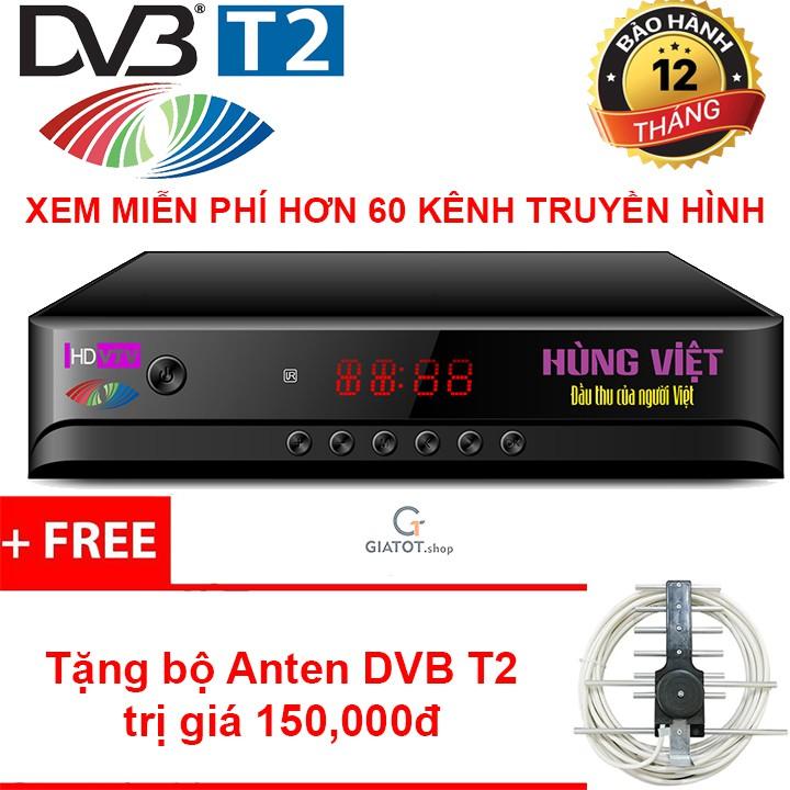 Đầu thu kỹ thuật số DVB-T2 HÙNG VIỆT HD-789s tặng Anten DVB T2 - 3337156 , 1239238391 , 322_1239238391 , 450000 , Dau-thu-ky-thuat-so-DVB-T2-HUNG-VIET-HD-789s-tang-Anten-DVB-T2-322_1239238391 , shopee.vn , Đầu thu kỹ thuật số DVB-T2 HÙNG VIỆT HD-789s tặng Anten DVB T2
