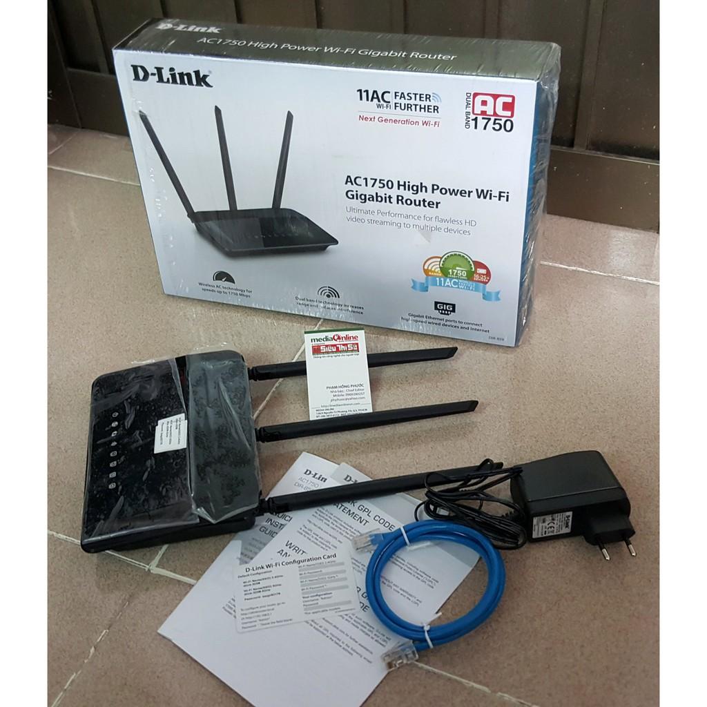 DLink DIR- 859 Chuẩn AC1750 -
