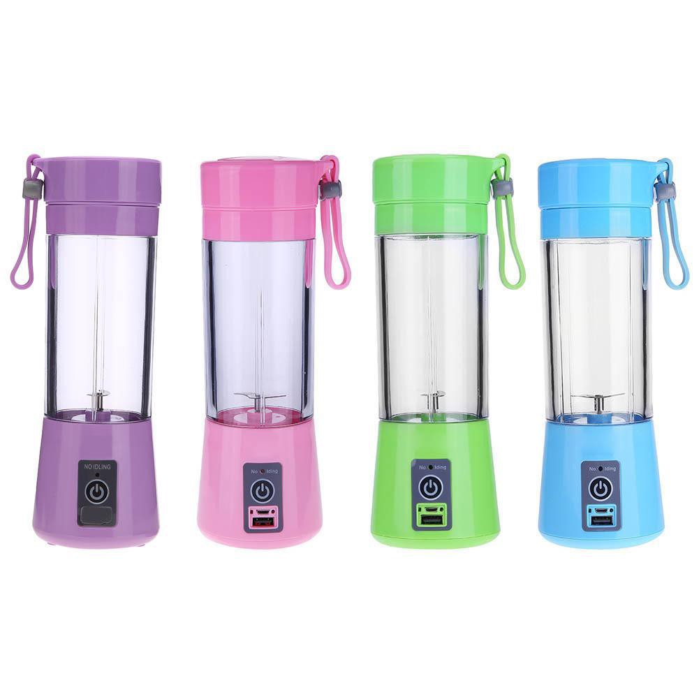 380ml USB Mini Multipurpose Small Juicer Extractor Household Blender Mixer