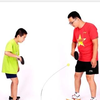 Bộ tập chơi bóng bàn thế hệ mới Free Tab