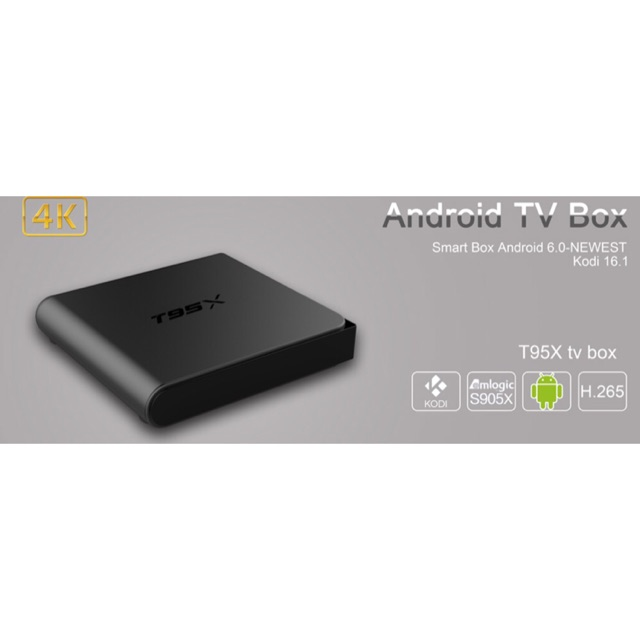 [SALE 10%] Android tivi box T95X Ram 2Gb