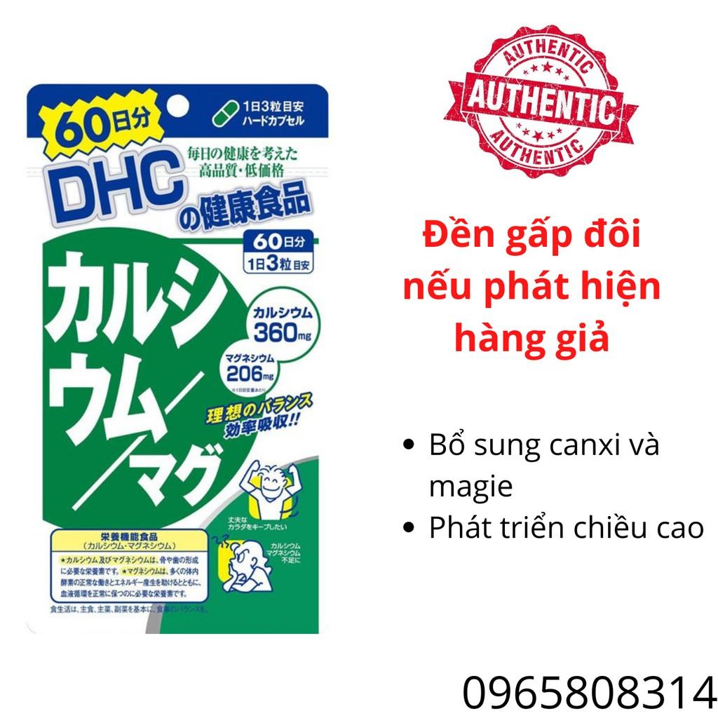 Viên Uống DHC Canxi - DHC_Nhật Bản