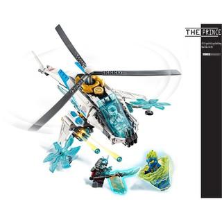 Bộ xếp hình máy bay trực thăng ninjago SS11 LARI 11328