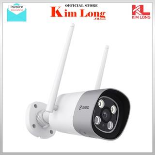Camera quan sát Ngoài trời Qihoo 360 Full HD 1080P Ip Wifi D801 120 độ - Chính hãng thumbnail