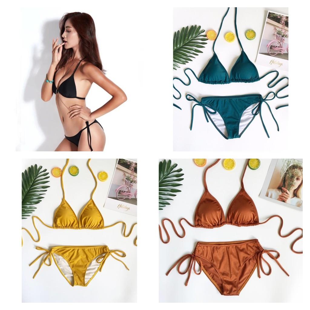 Bikini tam giác mảnh (nhiều màu) - Eva Shop - Sexcy, cực tôn dáng, giá tốt nhất