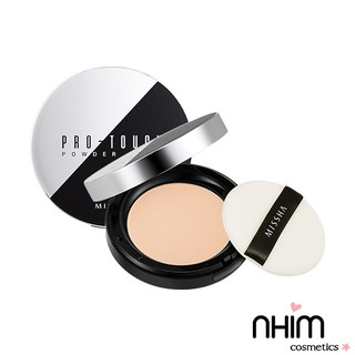 ( Sẵn- Auth) Phấn Phủ Missha Pro-Touch Powder Pact SPF25/PA++ 10gr