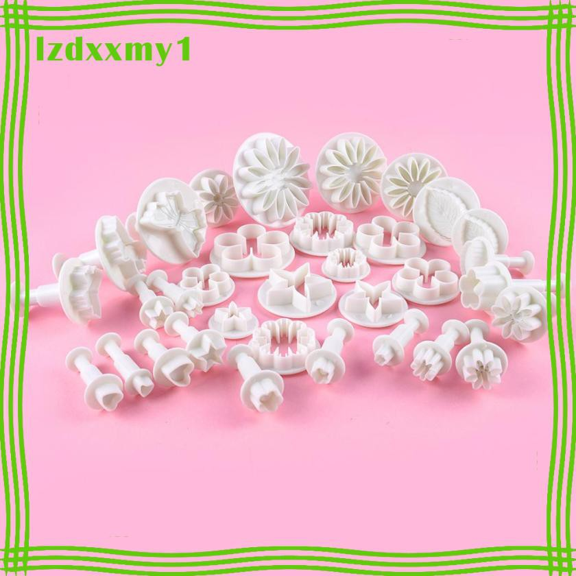 Kiddy 33 Pieces Kids Clay Mould Leaf Flower Tree Heart Polymer Clay DIY Clay Mold