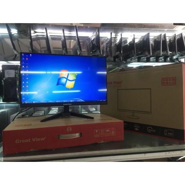 Màn hình máy tính Great View [💖FREESHIP💖 Đơn Từ 150K] T220M 22inch Full Viền Mới Full Box | SaleOff247