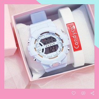 Đồng hồ điện tử nam nữ AOSUN DH107 mẫu mới tuyệt đẹp