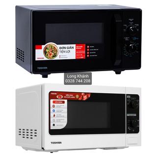 Lò vi sóng Toshiba ER-SM20 (20L) và MW2-MM24 (24L), chỉnh cơ, nhập Thái Lan, bảo hành điện tử 12 tháng