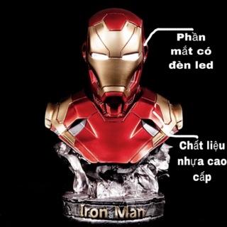 (Hàng sắp về) Mô hình người sắt IronMan Tony Stank MK46 cao 36cm (tỷ lệ 1/2)