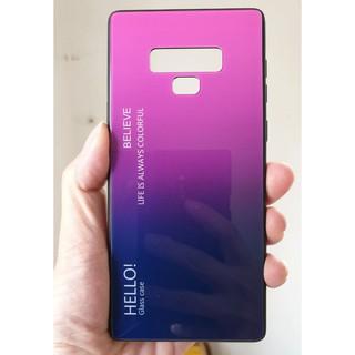 Ốp lưng Note 9 video, ảnh thật – ốp kính – RVDB011- A3968
