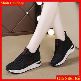 giày nữ độn đế SUP đế độn cao 6cm