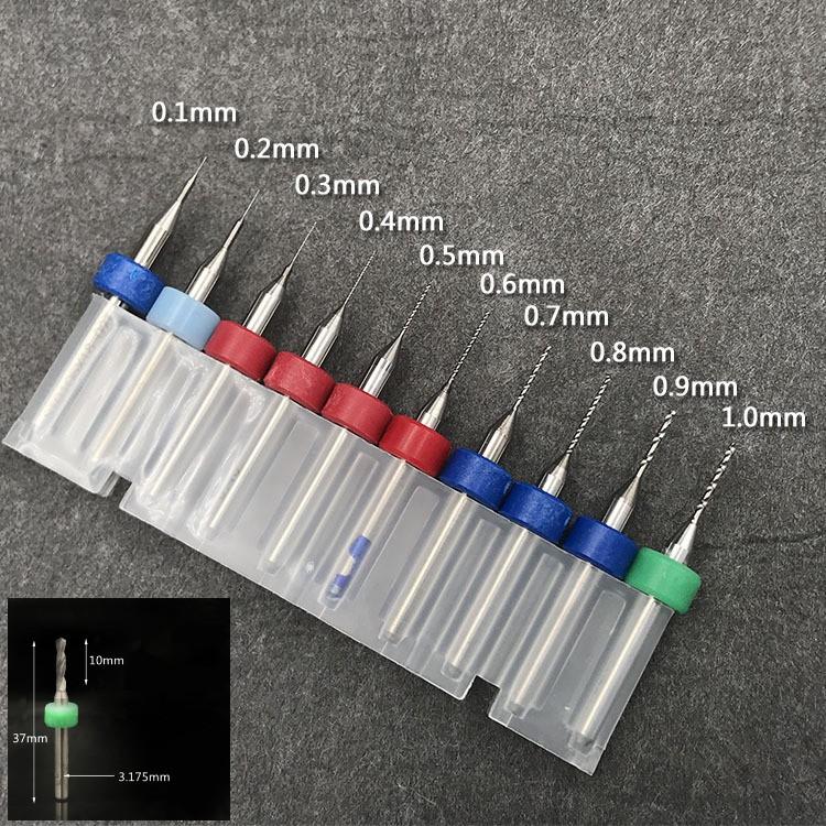 Bộ 10 mũi khoan PCB 0.1-1.0mm - 10009564 , 719981831 , 322_719981831 , 90000 , Bo-10-mui-khoan-PCB-0.1-1.0mm-322_719981831 , shopee.vn , Bộ 10 mũi khoan PCB 0.1-1.0mm