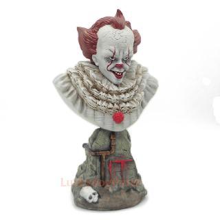Clown Back Soul IT Penney Wise Bust Statue Clown Back Soul Bust GK Boxed Handmade Model 24CM