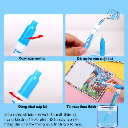 Bộ đồ chơi tô màu bằng nước