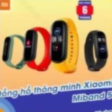Vòng tay thông minh Xiaomi Mi Band 5 / Đồng hồ thông minh Miband 5 -  [ Bảo hành 6 tháng ]  OM