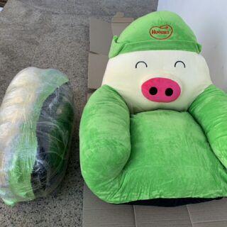 Ghế lợn bông 170k