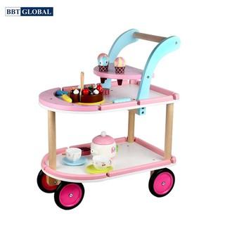Đồ chơi xe đẩy bánh ngọt BBT Global gỗ MSN17076