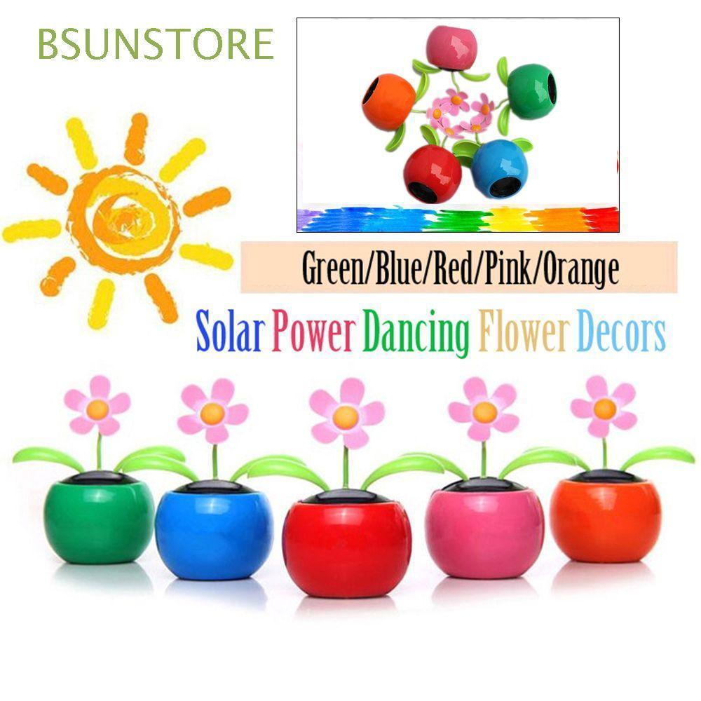 Decorating Plants Home Furnishing Swing Dancing Car Decor Sunflower