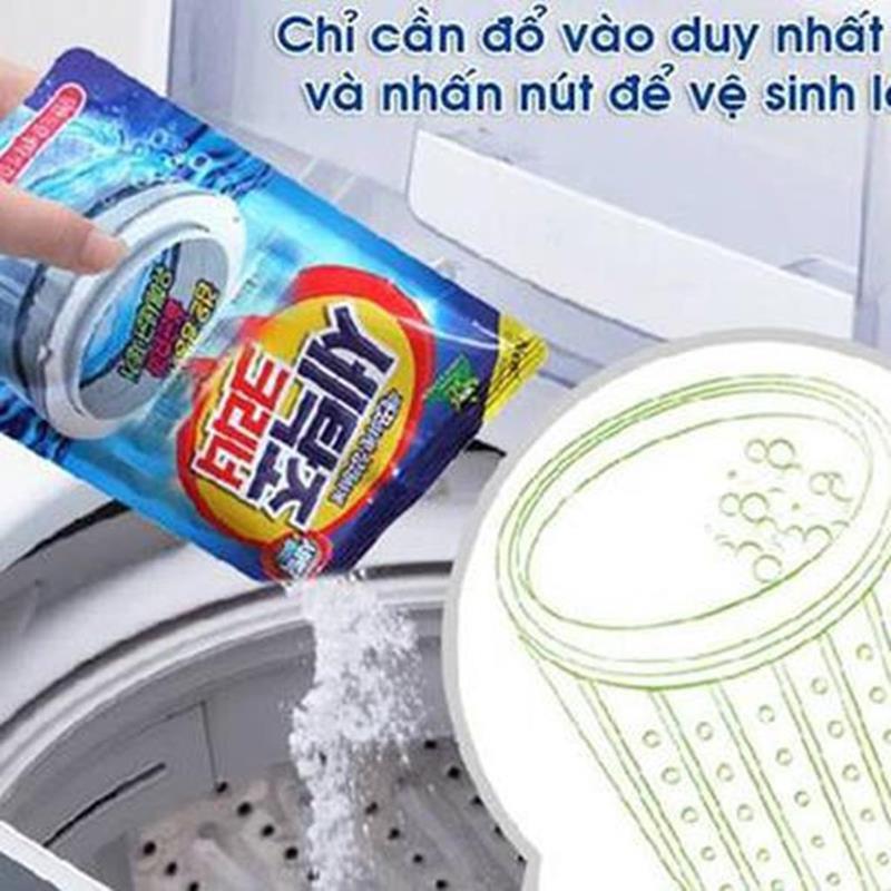 Combo Bột tẩy lồng máy giặt Hàn Quốc + Bột thông cống cực mạnh A8{ Bán hàng uy tín }