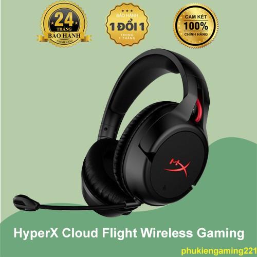 Tai Nghe HyperX Cloud Flight Wireless Gaming - Hàng Chính Hãng