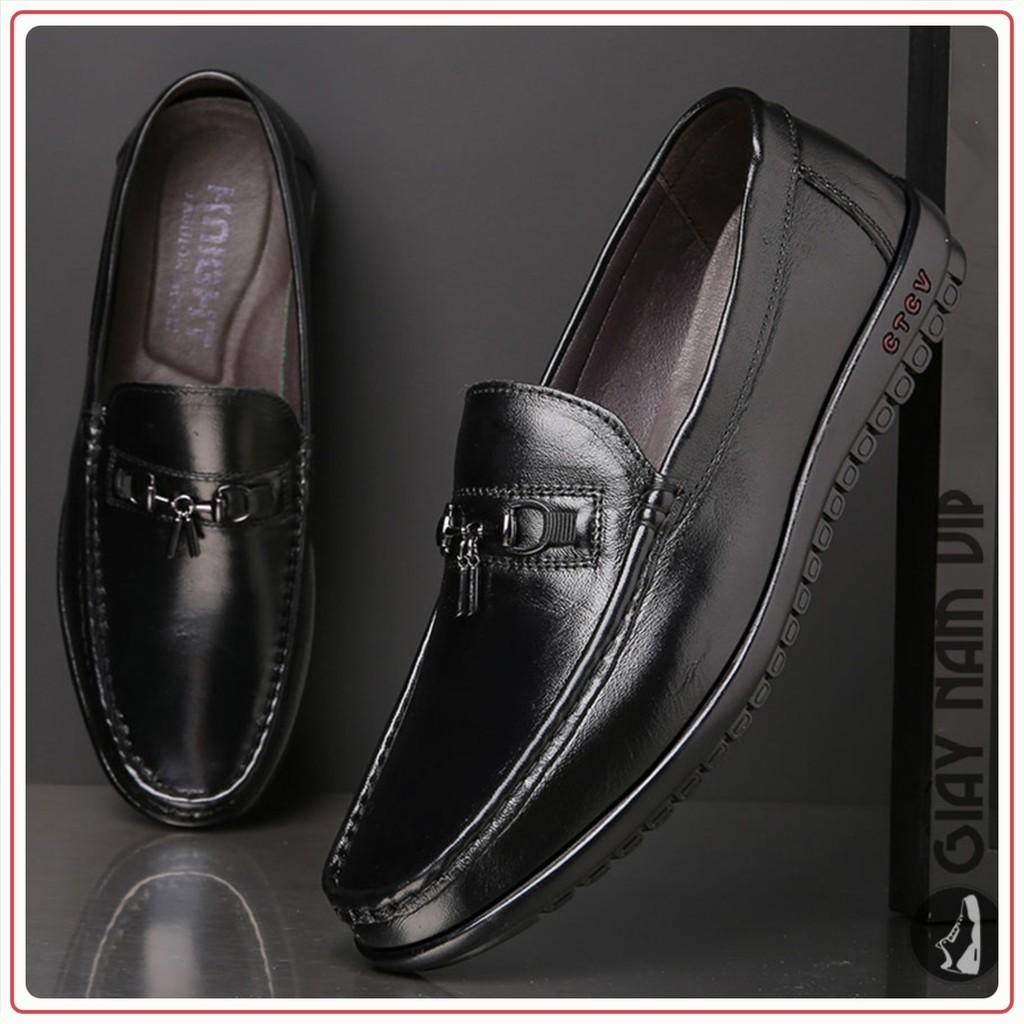 Giày Nam Đẹp - FREESHIP - Giày Lười Nam Sang Chảnh Chất Chơi GD96