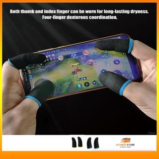 găng tay chơi game sợi bạc cao cấp MEMO chống mồ hôi ff thumbnail