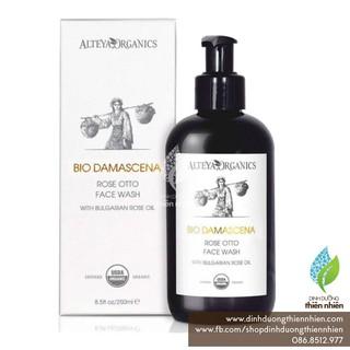 Sữa Rửa Mặt Hữu Cơ Alteya Organics Bio Damascena Rose Face Wash, Chứa Tinh Dầu Hoa Hồng, 250ml thumbnail