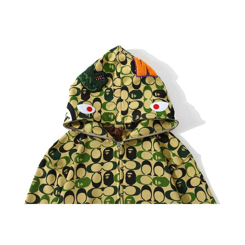 [ FREE SHIP] Áo khoác BAPE * COACH dành cho nam, nữ