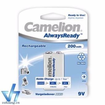 Bộ 2 pin sạc vuông Camelion AlwaysReady 9V - 13647332 , 784849859 , 322_784849859 , 165000 , Bo-2-pin-sac-vuong-Camelion-AlwaysReady-9V-322_784849859 , shopee.vn , Bộ 2 pin sạc vuông Camelion AlwaysReady 9V